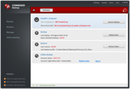 Comodo Backup screenshot